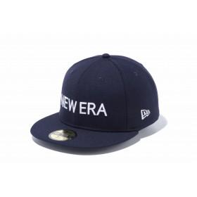 【ニューエラ公式】 59FIFTY NEW ERA ネイビー × ホワイト メンズ レディース 7 (55.8cm) キャップ 帽子 12037935 NEW ERA