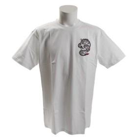 ノーブランド(NO BRAND) ドラゴン スカル Tシャツ ST18ST14 WHITE (Men's)