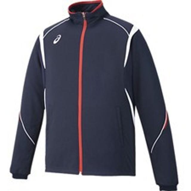 asics アシックス オールスポーツ トレーニングジャケット XAT143-50 ネイビー 男女兼用 ウェア アパレル お取り寄せ商品
