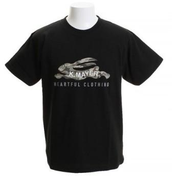 クリフメイヤー(KRIFF MAYER) ロゴTシャツ CAMO 1819906-4-BLK (Men's)