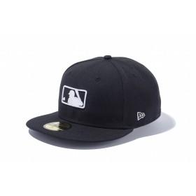NEW ERA ニューエラ 59FIFTY MLBロゴ ブラック × ホワイト ベースボールキャップ キャップ 帽子 メンズ レディース 7 (55.8cm) 11596353 NEWERA
