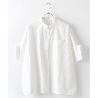 Harriss / ハリス コットンタイプライターポンチョシャツ