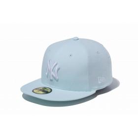 【ニューエラ公式】 59FIFTY オックスフォード ウォッシャー ニューヨーク・ヤンキース ライトブルー × スノーホワイト メンズ レディース 7 (55.8cm) MLB キャップ 帽子 11899292 NEW ERA
