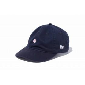 【ニューエラ公式】 9THIRTY クロスストラップ ミニロゴ ベースボール ネイビー メンズ レディース 56.8 - 60.6cm キャップ 帽子 11899263 NEW ERA
