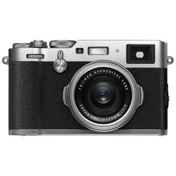 【中古】FUJIFILM デジタルカメラ X100F-S シルバー 2430万画素 元箱あり