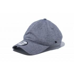 【ニューエラ公式】 ストア限定 9THIRTY ベーシック オックスフォード ワッシャー ブラック メタルフラッグ メンズ レディース 56.8 - 60.6cm キャップ 帽子 12069686 NEW ERA