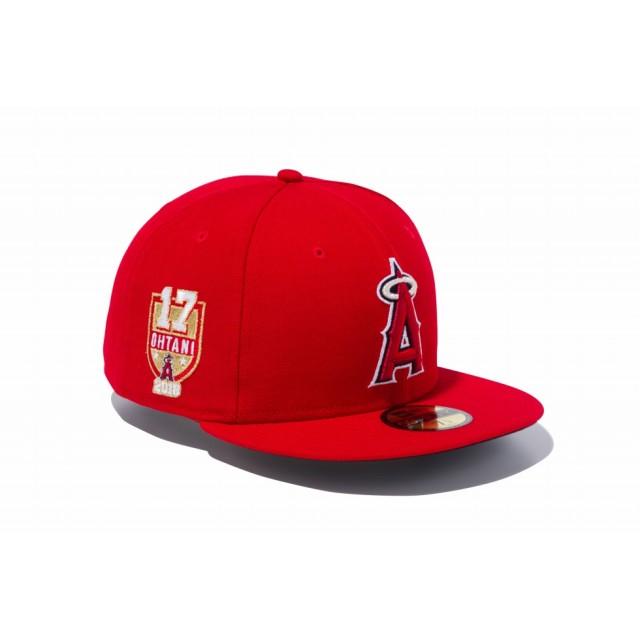 NEW ERA ニューエラ 59FIFTY ロサンゼルス・エンゼルス 大谷翔平 ベースボールキャップ キャップ 帽子 メンズ レディース 7 1/2 (59.6cm) 11877054 NEWERA