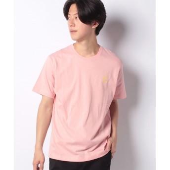 【23%OFF】 ウィゴー WEGO/ワンポイントフルーツ刺繍Tシャツ メンズ ピンク L 【WEGO】 【セール開催中】