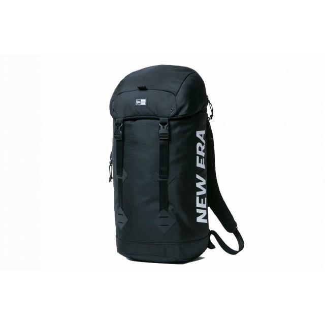 【ニューエラ公式】 ラックサック 28L プリントロゴ ブラック × ホワイト メンズ レディース ワンサイズ バックパック 11556631 NEW ERA リュック
