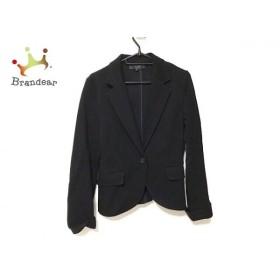 アンタイトル UNTITLED スカートスーツ サイズ3 L レディース 美品 黒   スペシャル特価 20190808
