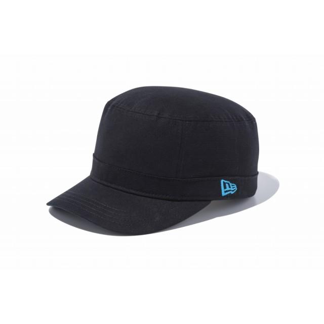 【ニューエラ公式】 WM-01 ダックコットン ブラック ターコイズフラッグ メンズ レディース 7 (55.8cm) キャップ 帽子 11135294 NEW ERA