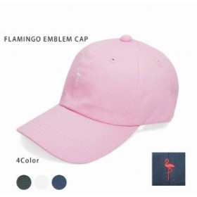 ファッション雑貨 レディース 帽子 Keys キャップ 帽子 メンズ レディース 大きいサイズ フラミンゴ 刺繍 ベースボールキャップ キーズ K