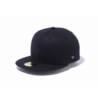 NEW ERA ニューエラ 59FIFTY ベーシック ダックキャンバス メタルフラッグ ブラック ベースボールキャップ キャップ 帽子 メンズ レディース 7 (55.8cm) 12031721 NEWERA