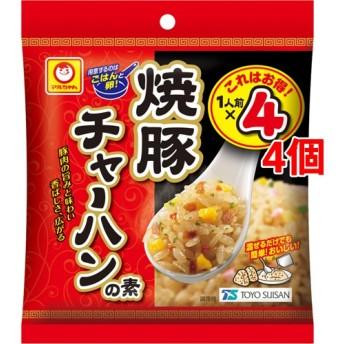 マルちゃん 焼豚 チャーハンの素 (6.8g4袋入4個セット)
