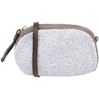《セール開催中》CATERINA LUCCHI レディース ハンドバッグ グレー 革 / 紡績繊維