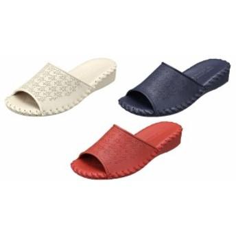 スリッパ Pansy パンジー 9408 室内履き ルームシューズ パンチング レディース 靴 お取り寄せ商品