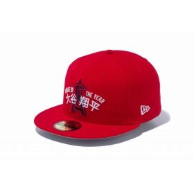 【ニューエラ公式】 59FIFTY 大谷翔平 新人王 ロサンゼルス・エンゼルス レッド メンズ レディース 7 (55.8cm) MLB キャップ 帽子 12109487 NEW ERA
