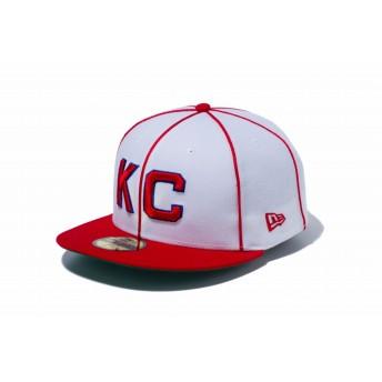 NEW ERA ニューエラ 59FIFTY ニグロリーグ カンザスシティ・モナークス チームカラー ベースボールキャップ キャップ 帽子 メンズ レディース 7 (55.8cm) 11781697 NEWERA