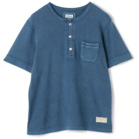 【40%OFF】 メンズビギ Health Knit別注ヘンリーネックTシャツ メンズ インディゴブルー S 【Men's Bigi】 【セール開催中】