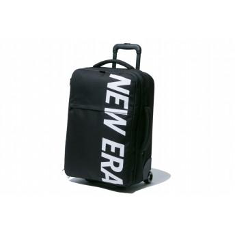 【ニューエラ公式】 ウィールバッグ 42L プリントロゴ ブラック × ホワイト メンズ レディース ワンサイズ ウィールバッグ 11901461 NEW ERA