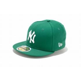 NEW ERA ニューエラ キッズ 59FIFTY ニューヨーク・ヤンキース ケリー × ホワイト ベースボールキャップ キャップ 帽子 男の子 女の子 6 1/2 (52cm) 11310402 NEWERA