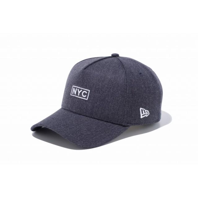 【ニューエラ公式】 9FORTY A-Frame NYC ヘザーネイビー × ホワイト メンズ レディース 56.8 - 60.6cm キャップ 帽子 11914517 NEW ERA