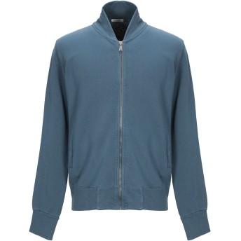 《期間限定セール開催中!》CROSSLEY メンズ スウェットシャツ ブルーグレー M コットン 100%