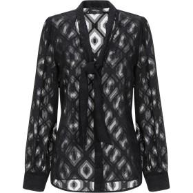 《セール開催中》OTTOD'AME レディース シャツ ブラック 42 ポリエステル 100%