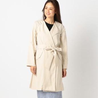 [マルイ]【セール】トレンチ風ガウンコート/ミューズ リファインド クローズ(MEW'S REFINED CLOTHES)