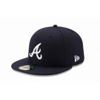 NEW ERA ニューエラ 59FIFTY MLB オンフィールド アトランタ・ブレーブス ロード ベースボールキャップ キャップ 帽子 メンズ レディース 7 (55.8cm) 11449394 NEWERA