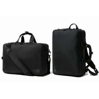 【ニューエラ公式】 ビジネスコレクション スリーウェイ ブリーフバッグ 16L ブラック メンズ レディース ワンサイズ スリーウェイバッグ 11901527 NEW ERA