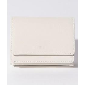 ビューティフルピープル reflect leather compact wallet レディース ホワイト F 【beautifulpeople】