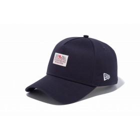 【ニューエラ公式】 9FORTY A-Frame パッチロゴ オールドロゴ ネイビー メンズ レディース 56.8 - 60.6cm キャップ 帽子 11899199 NEW ERA