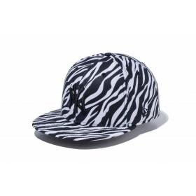 【ニューエラ公式】 9FIFTY ゼブラ ニューヨーク・ヤンキース Diamond Era ホワイト × ブラック メンズ レディース 57.7 - 61.5cm MLB キャップ 帽子 11899173 NEW ERA