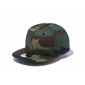 【ニューエラ公式】 59FIFTY ベーシック ウッドランドカモ ブラックフラッグ メンズ レディース 7 (55.8cm) キャップ 帽子 11914552 NEW ERA