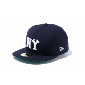 NEW ERA ニューエラ 59FIFTY ニグロリーグ ニューヨーク・ブラックヤンキース チームカラー ベースボールキャップ キャップ 帽子 メンズ レディース 7 (55.8cm) 11781688 NEWERA