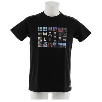 ライズ(RYZ) ブロック フォト Tシャツ 869R8CD2009 BLK (Men's)