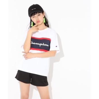 (repipi armario/レピピアルマリオ)☆Champion×repipi☆キリカエBIGTシャツ/ [.st](ドットエスティ)公式