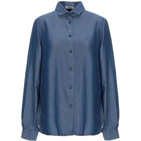 《期間限定セール開催中!》CAMICETTASNOB レディース デニムシャツ ブルー 42 指定外繊維(テンセル) 100%