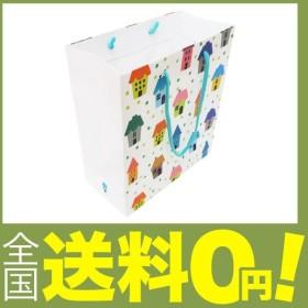 エヒメ紙工 デザインペーパーバッグ IE-M-10P Mサイズ 10枚パック ハウス