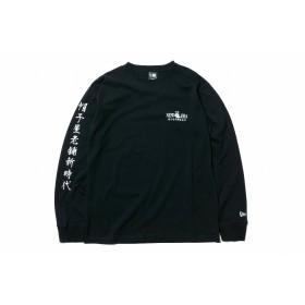 【ニューエラ公式】 長袖 コットン Tシャツ Originators 元祖 帽子屋老舗新時代 ブラック × ホワイト メンズ レディース Small 長袖 Tシャツ 11900250 NEW ERA