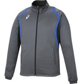 asics アシックス オールスポーツ デコトレーニングジャケット XAT12D-91 カーボン 男女兼用 アパレル お取り寄せ商品