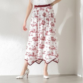 [マルイ]【セール】【LOVELESS】WOMEN Toile du Jouy マキシスカート/ギルドプライム(GUILD PRIME WOMENS)