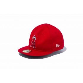 NEW ERA ニューエラ キッズ My 1st 59FIFTY ロサンゼルス・エンゼルス レッド × チームカラー ベースボールキャップ キャップ 帽子 男の子 女の子 6 (48.3cm) 12018905 NEWERA