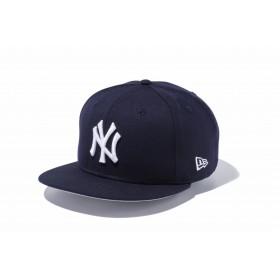 【ニューエラ公式】 9FIFTY ニューヨーク・ヤンキース ネイビー × ホワイト メンズ レディース 57.7 - 61.5cm MLB キャップ 帽子 11308467 NEW ERA