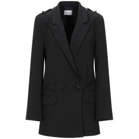 《期間限定セール開催中!》GESTUZ レディース テーラードジャケット ブラック 34 ポリエステル 95% / ポリウレタン 5%