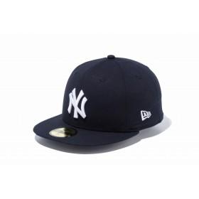【ニューエラ公式】 59FIFTY タイプライター ニューヨーク・ヤンキース ピュアブラック × ホワイト メンズ レディース 7 (55.8cm) MLB キャップ 帽子 11901293 NEW ERA