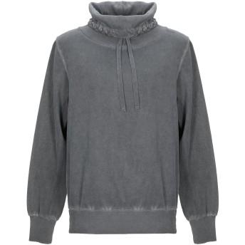 《期間限定セール開催中!》CROSSLEY メンズ スウェットシャツ グレー S コットン 100%