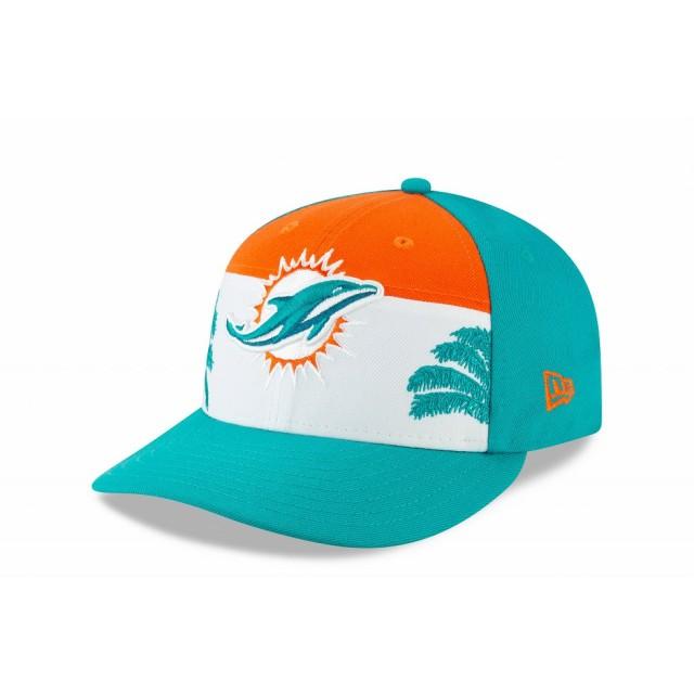 【ニューエラ公式】 LP 59FIFTY 2019 NFL ドラフトキャップ マイアミ・ドルフィンズ メンズ レディース 7 1/4 (57.7cm) NFL キャップ 帽子 12028741 NEW ERA