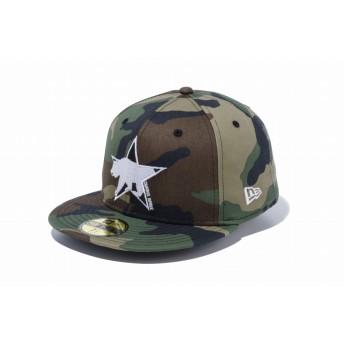 NEW ERA ニューエラ 59FIFTY カリフォルニアベアー スター ウッドランドカモ ベースボールキャップ キャップ 帽子 メンズ レディース 7 (55.8cm) 12028795 NEWERA